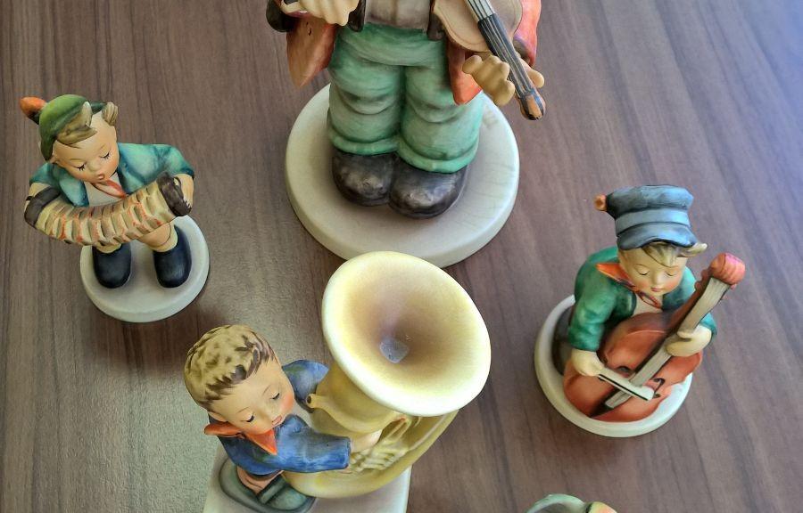 Diverse Porzellan Figuren Göbel