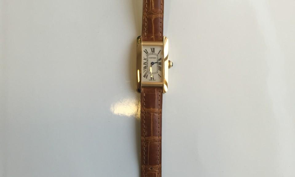 Gold Armbanduhr