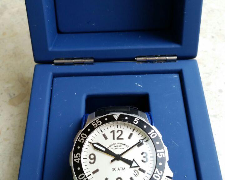 Glashütte Herren Armbanduhr