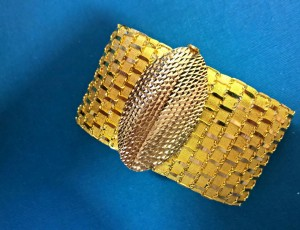 Goldenes Armband 22ct