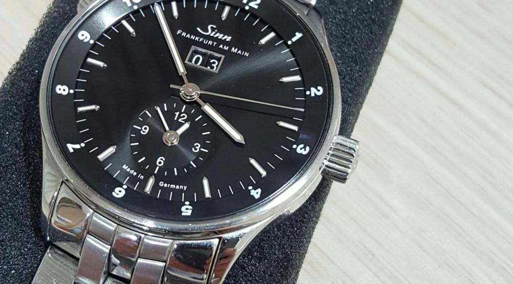 Stahl Armbanduhr Sinn Automatik