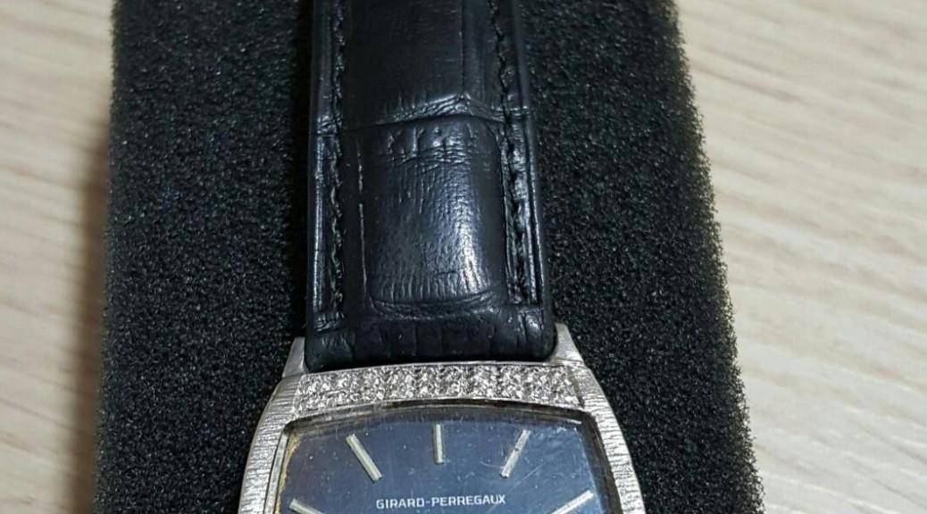 Weißgoldene Uhr Girard Perregaux