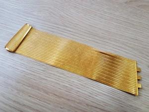 Breites goldenes Armband 22K