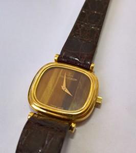 Goldene Damen Uhr Jaeger-LeCoultre