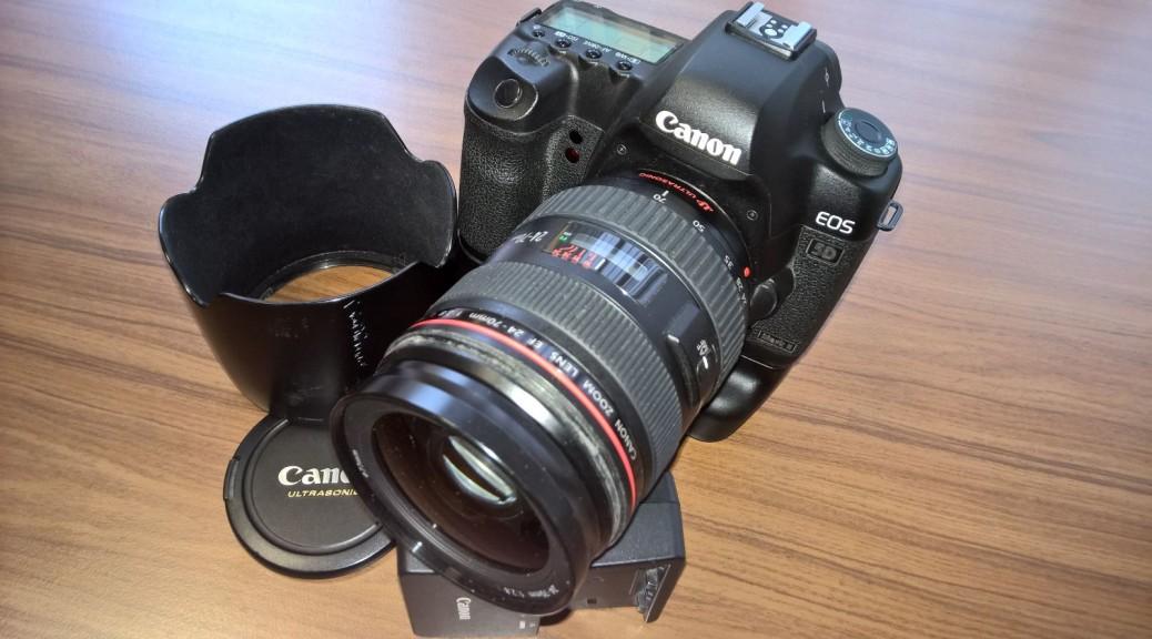 Digitale Spiegelreflex Kamera CANON EOS 5D Mark II