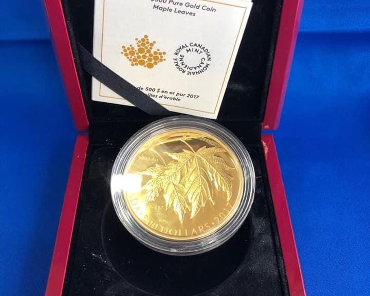 Goldmünze Kanada 500$
