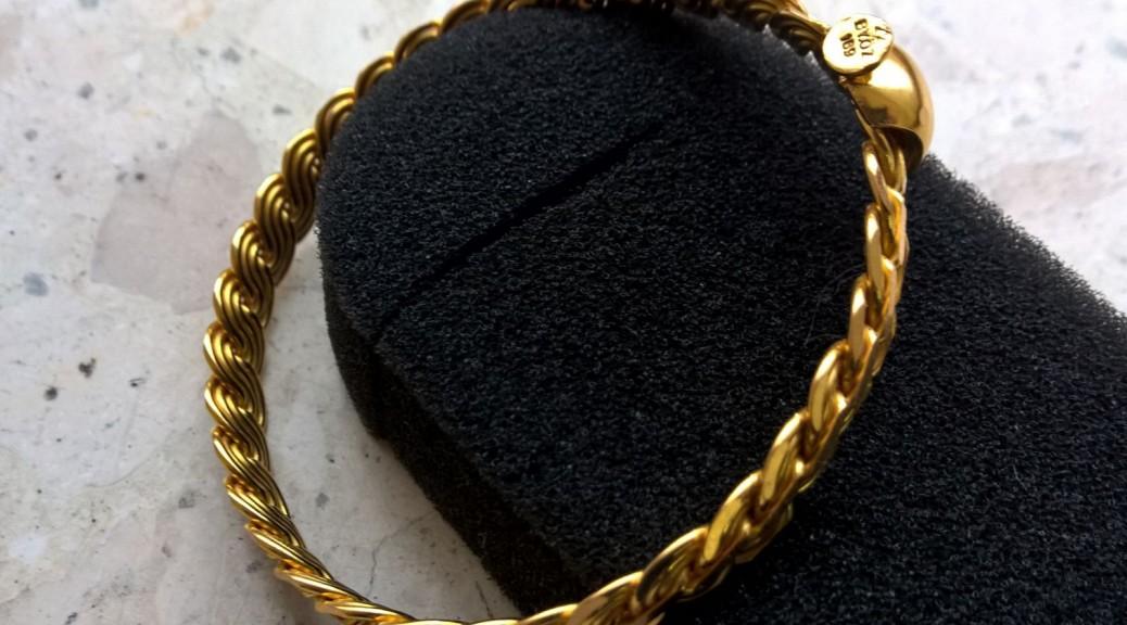 Gold Armreif 22k