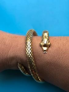 Goldener Armreif (Schlange)
