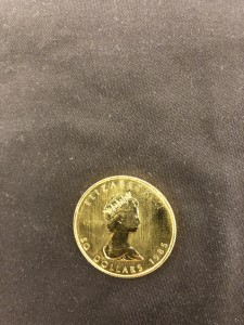 Goldmünze Canada