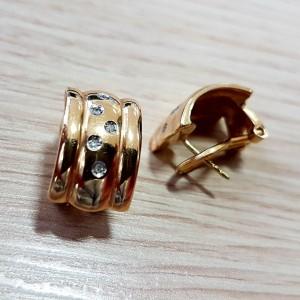 Gold Ohrstecker