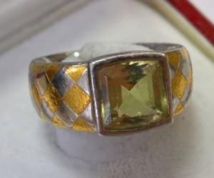 Platin Ring