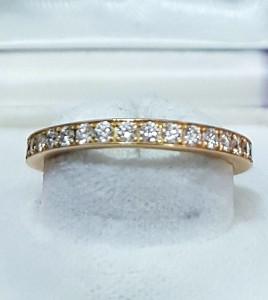 Goldener Memoire Ring