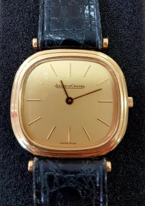 Goldene Uhr Jaeger-LeCoultre