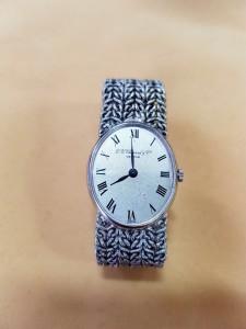Weißgoldene Armbanduhr L.U. Chopard