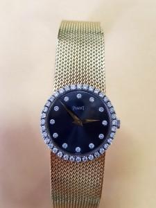 Goldene Uhr PIAGET