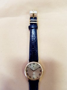 Goldene ROLEX Uhr Chellini