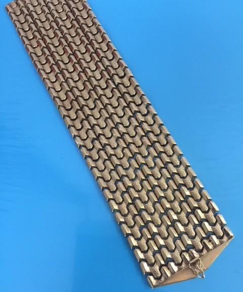 Breites Goldarmband
