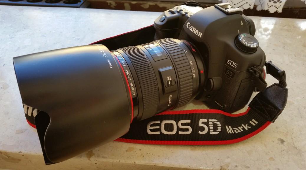 Canon Spiegelreflexkamera EOS 5D Mark II