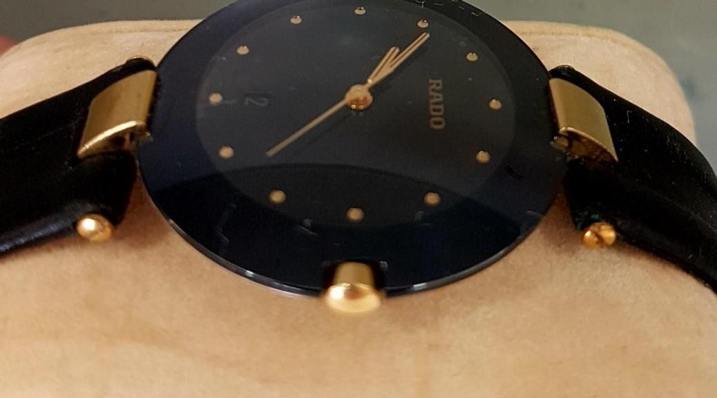 Herren Uhr mit Lederband RADO