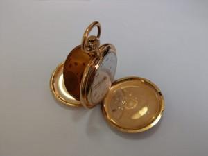 Goldene Taschenuhr A. Lange & Söhne