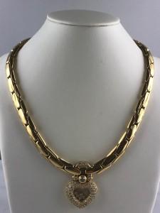 "Goldenes Collier ""Chopard 3850"""