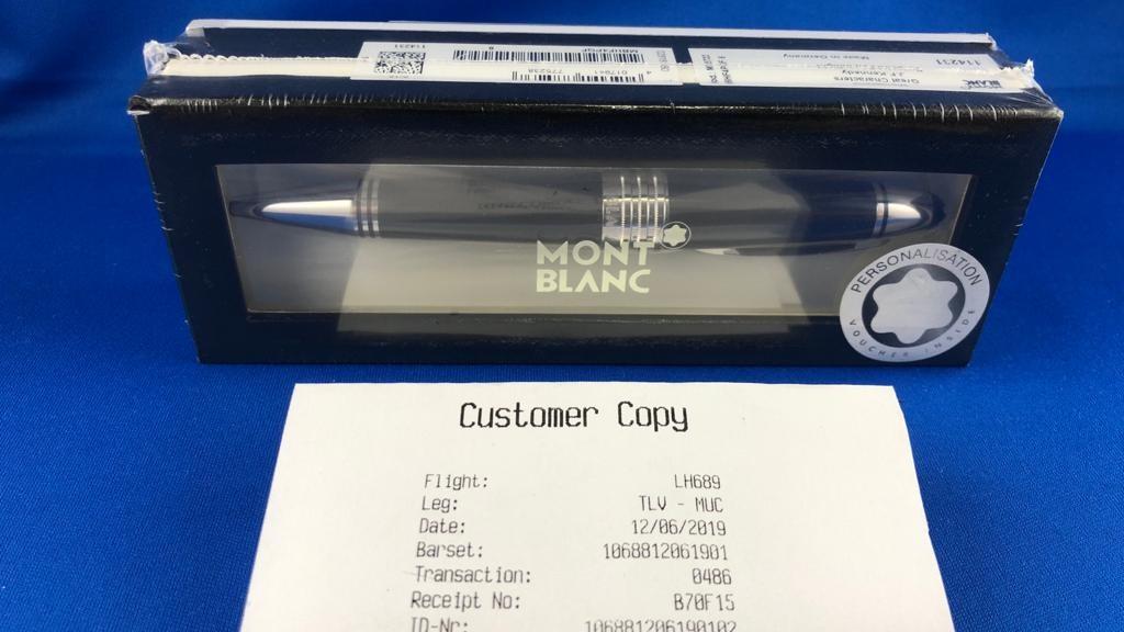 Kugelschreiber Montblanc JFK