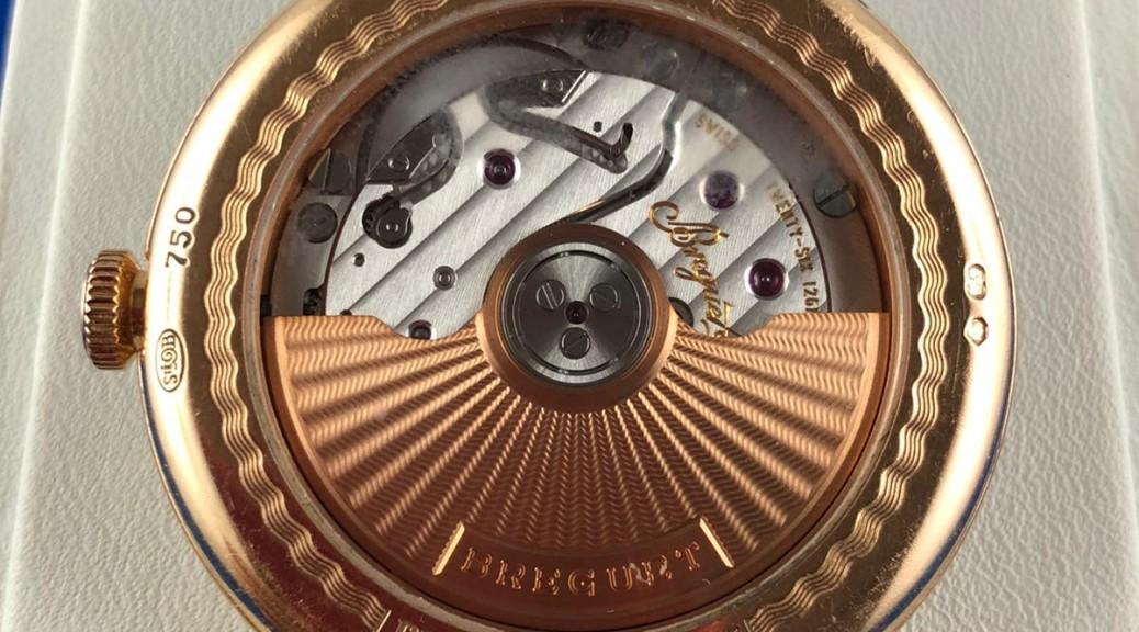 Goldene Armbanduhr BREGUET