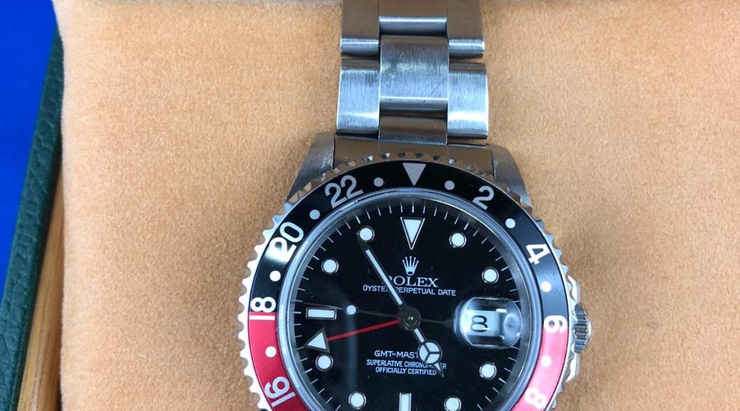 Stahlherrenarmbanduhr ROLEX GMT Master II